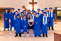 Graduates Mass St. Mary Cathedral 2015
